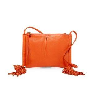 HOBO Bay Leather Crossbody 🧡